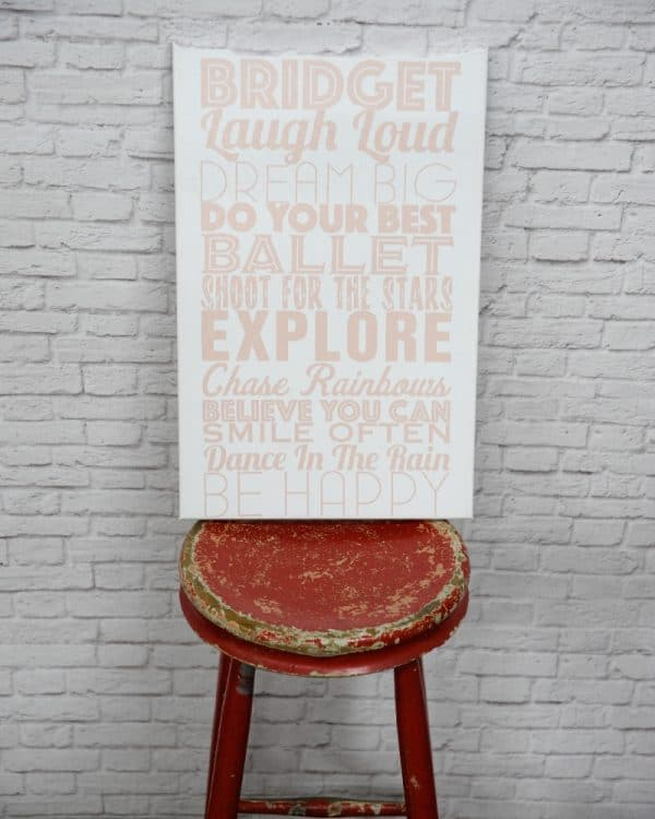 Zuu's Inspirational Tram Scrolls with personalised quotes for children's rooms