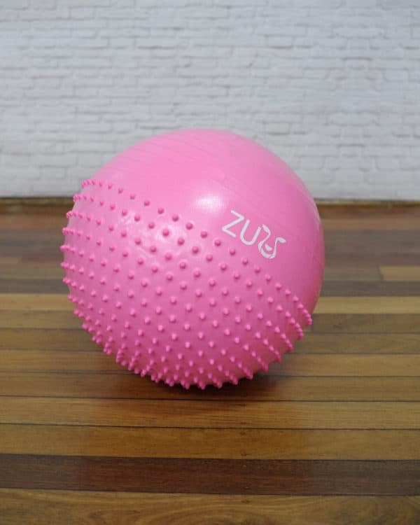 Zuu Penguin Balance Yoga Ball in pink colour for children