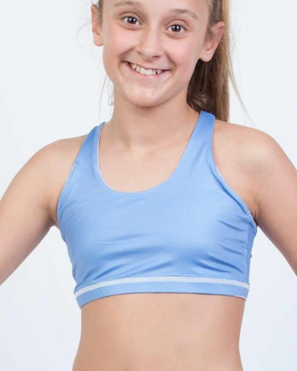 Vitality Reversible Crop for little gymnasts