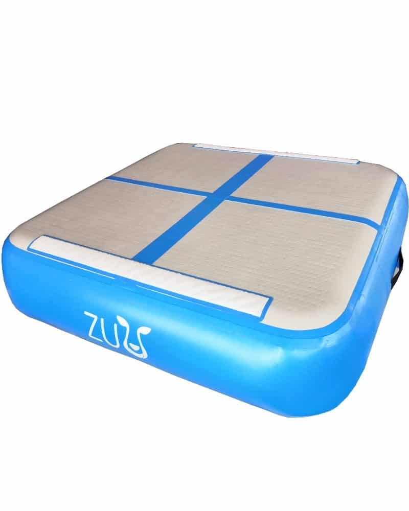 gymnastics blue launch pad